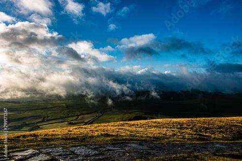 Peak district , hope valley, buxton, great britain, england, derbyshire Wallpaper Mural