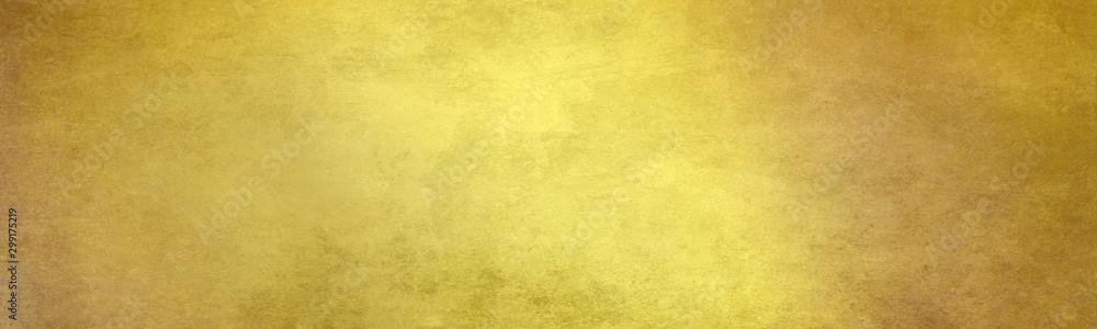 Fototapety, obrazy: gold farbe texturen hintergrund banner