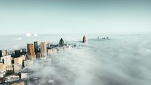 Atlanta City Foggy
