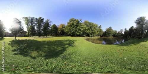Fototapeta Polish natural environment 360 degree panorama obraz