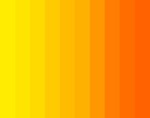 Orange And Yellow Gradient Sun...