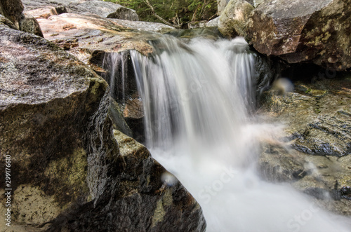 Waterfall on the Basin-Cascades Trail