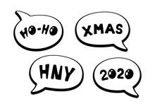 Holiday Cartoon Comic Speech B...