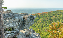 View From Peak Of Hanging Rock...