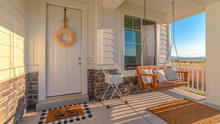 Panorama Frame Front Porch Of ...