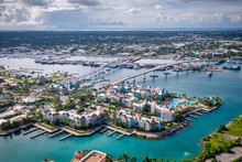 Aerial Of Bahamas Nassau