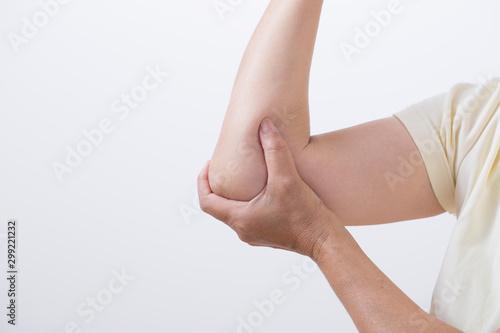Cuadros en Lienzo 関節痛の女性の肘