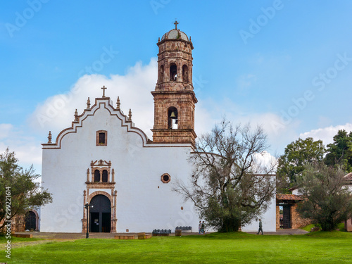 Church of San Francisco - Tzintzuntzan, Michoacán, Mexico