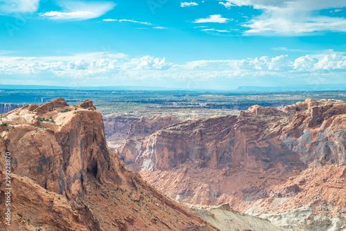 Fotografie, Obraz  A panoramic view in Canyonlands National Park in Utah.