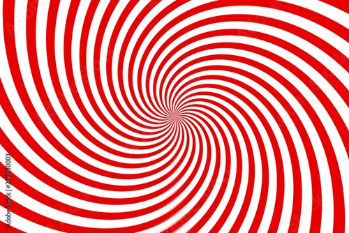 Obraz red and white spiral background - fototapety do salonu