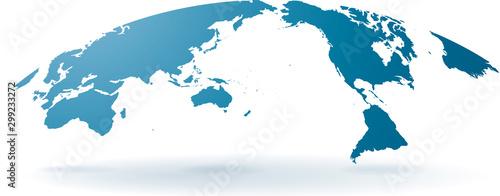 Fotografia 世界地図 高画質ベクター