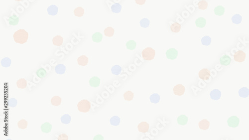 Tela  背景素材 水玉41