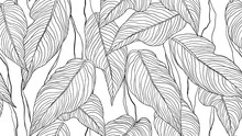 Foliage Seamless Pattern, Leav...