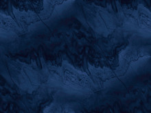 Navy Blue Marble Texture - Sea...