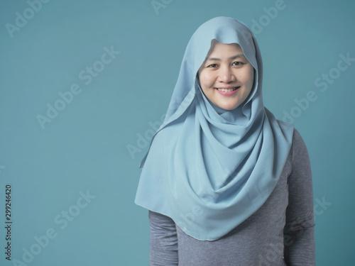 Fotografía  Smiling Muslim Woman