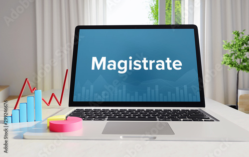 Magistrate – Statistics/Business Fototapeta