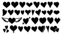 Heart Vector Icon Set