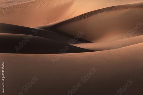 Marron chocolat Desert landscape