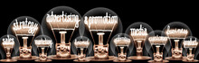 Light Bulbs With Advertising A...