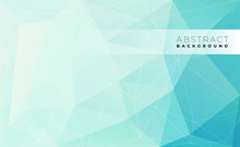 Abstract Modern Triangle Polygonal Background, Vector Illustration.