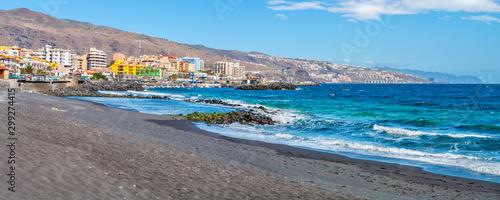 Canvas Prints Canary Islands Candelaria beach. Tenerife, Canary Islands, Spain