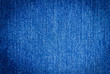 Blue jean texture background