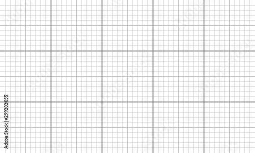 Valokuvatapetti Drafting paper regular square lines grid. Graph mesh