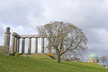 The National Monument On Calton Hill, Edinburgh