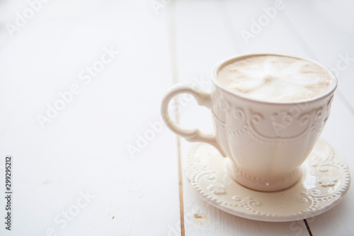 Canvas Prints Cafe Cup of coffee