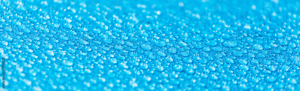 Fototapety, obrazy: Raindrops on a tent as an abstract background