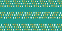 Mosaic Style Striped Border De...