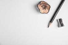 Pencil, Sharpener And Shaving ...