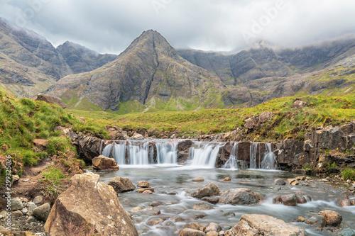 Photo Fairy Pools waterfall on Isle of Skye, Scotland