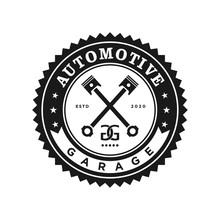 Automotive Logo Design, Vintag...