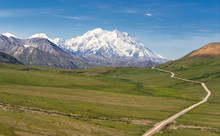 Mount McKinley And Denali Road