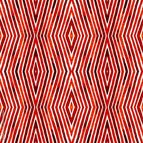 Montage in der Fensternische Künstlich Wine red Geometric Watercolor. Amazing Seamless Pa