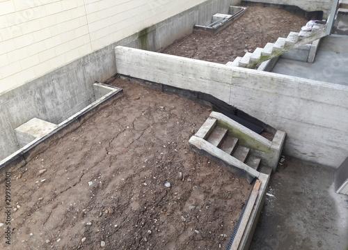 Fotografia, Obraz  Lavori in corso nel cantiere edile - business