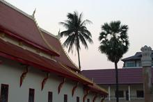 Buddhist Temple (wat Chan) In Vientiane (laos)