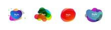 Colorful Irregular Shapes Set