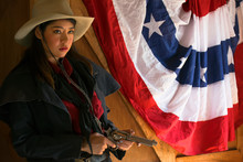 Cowgirl With A Gun.life Style ...