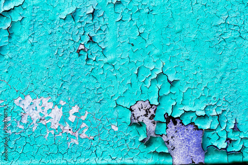 Fragment of colored graffiti painted on a stone wall Poster Mural XXL