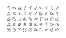 Isolated Construction Icon Set...