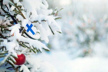 Christmas Finland. Xmas Tree C...