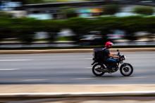 Panning De Motociclista