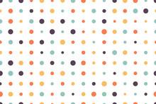 Seamless Dot Pattern. Vector B...