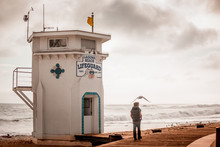 Ocean Board-walk In Laguna Beach