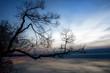 Jezioro Śniardwy zachód słońca