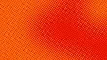 Orange Red Pop Art Background ...