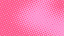 Baby Pink Pop Art Background I...
