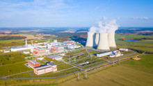 Aerial View Of Nuclear Power P...